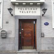dør telegrafen