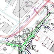 20-02-27 omlegging av ledninger i Brogt