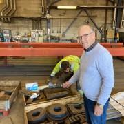 20-10-21 Per M viser frem stål produksjon