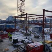 21-01-28 Byggeplass mot buss og togterminal