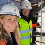 21-04-30 Rolf og Camilla på toppen hos kranfører